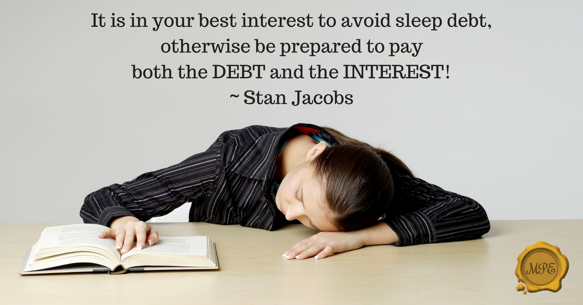 Sleep Debt – How much do you owe?